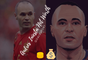 Salary Of Andres Iniesta- Andres Iniesta Net Worth